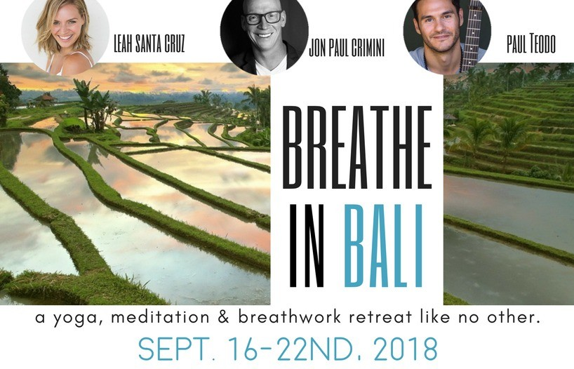Breathe in Bali Retreat Yoga - Meditation - Breathwork