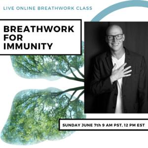 Live Online Breathwork Class June 7th -  9am (PST) 12pm (EST)