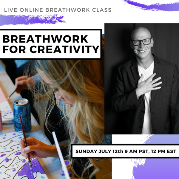 Live Online Breathwork Class July 12th -  9am (PST) 12pm (EST)