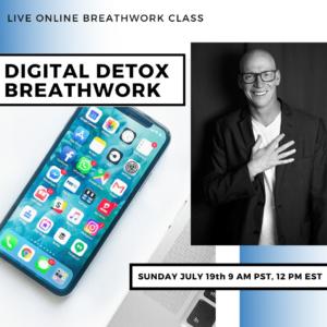 Live Online Breathwork Class July 19th -  9am (PST) 12pm (EST)