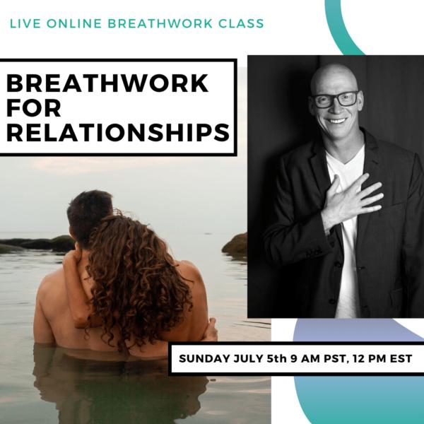 Live Online Breathwork Class July 5th -  9am (PST) 12pm (EST)