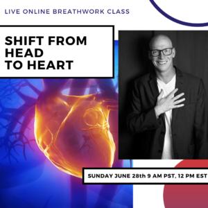 Live Online Breathwork Class June 28th -  9am (PST) 12pm (EST)