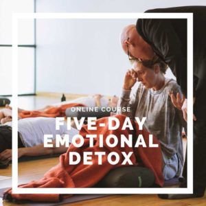 Five-Day Emotional Detox - online course- online breathwork course - breathe with jp